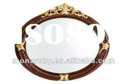 D127-30 high quality solid wood hand carving mirror frame