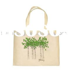 Eco-friendly organic cotton shopping bags