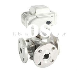 Electric 3 Way Ball Valve Model:WB Q914/5