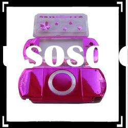 Front And Back Faceplate Housing Cover for PSP Pink