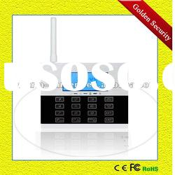 GS-G80DE Touch keypad GSM alarm system with15 wireless zones and 2 wired zones