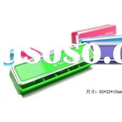 Harmonica New Carton Colorful Gel Car Vent Perfume Air Freshener Voccolor