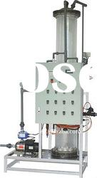 High Capacity Automatic Gas Exchange bed for drinking water