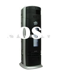 Home electrostatic air purifier with activated carbon filter