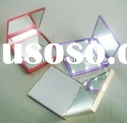 LED gift promotion mirror/LED compact mirror/led cosmetic mirror/led make up mirror