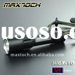 Maxtoch HI6X-10 7W XML T6 720LM 18650 High power Rechargeable Waterproof Aluminum LED Torch Outdoor