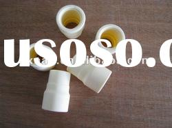 Medical silicone rubber connector