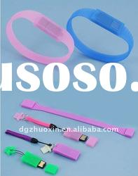 NEW AND HOT lovely silicone USB bracelet