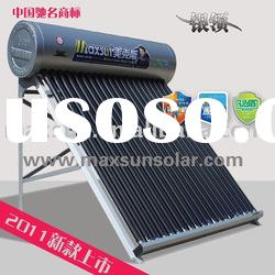Non-pressurized Stainless Steel Solar Water Heate (CE,ISO9001 Certificates)