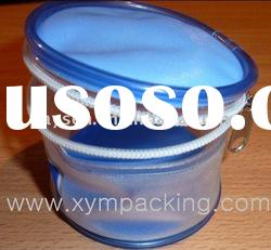PVC customized cosmetic packing bag