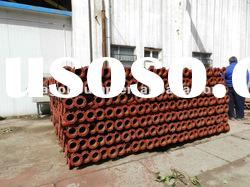Pipe for submersible deep well pump