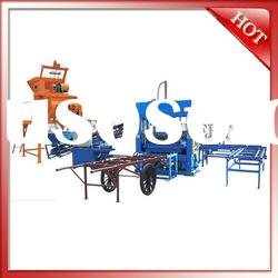 QT5-25 hot sale semi automatic concrete block making machine price