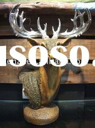 Resin Craft of simulation deer head model HN-E604B
