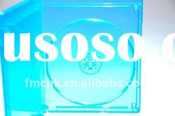 Single Blu-Ray dvd box with M-Lock (Blue Color)