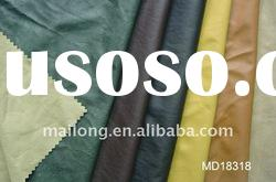 Synthetic Dry Semi-PU leather for ladies or man's garment