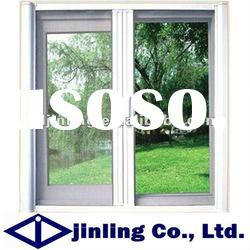 Thermal break aluminium double sash casement window