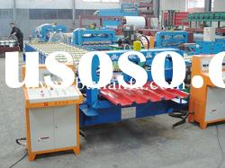 Trapezoidal colored steel roof panel roll forming machine XF35-178-890