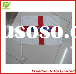 Unique And Fashional Style Top Quality Logo Printed Polyester Car Flag
