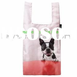 cartoon foldable canvas shopping tote bag(KY-00029)