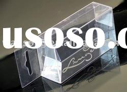 clear transparent cosmetic PVC box
