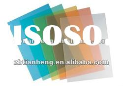 colorful PVC rigid plastic sheet for vaccuming food package