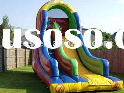 colorful inflatable water slide for summer use
