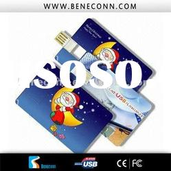 custom credit card cartoon gift usb flash drive