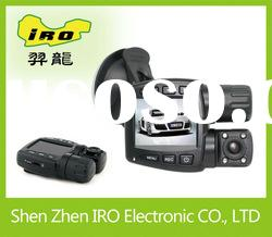 dual lens hd car accident recorder 720p*2