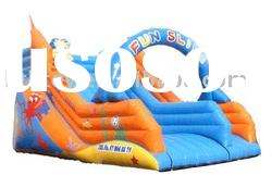 hot selling funny inflatable slide popular for summer use