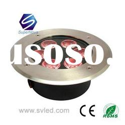 ip67 high power color changing led underground light