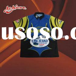 quick dry polyester auto racing wear