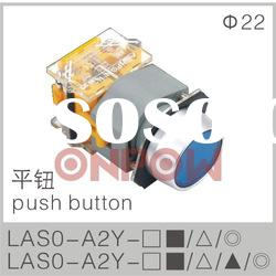 round push button switch LAS0-A(momentary push button switch,push on switch)