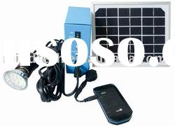 solar home light,solar lamp,solar lighting system for 7-8 hours,with USB charge mobile