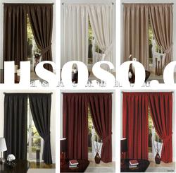 100% Polyester Faux Silk Dupioni Curtain,Shantung Fabric