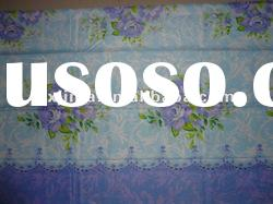 100%Polyester Pongee Printed Fabric For Making Bed Sheet