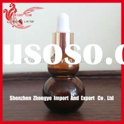 100ml amber glass pipette bottle for essential oil