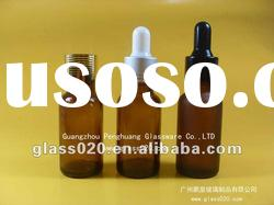 10ml amber glass essential oil bottle with aluminum cap