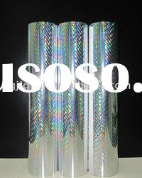 2011 newest silver roll hot stamping hologram sticker