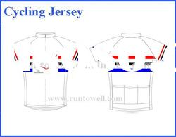 2012 Runtowell quick-dry coolmax cycling jersey
