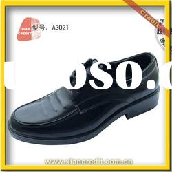 2012 Wearable Cow leather steel toe safety shoes with CE