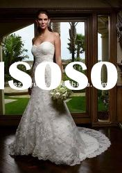 2012 new style lace embroidery sweetheart Exquisite Bridal Mermaid Wedding Dress