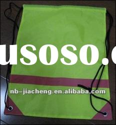 210D Reflective Fabric/ Polyester drawstring bag