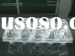 2/4/6/8/9/10/12/15/16/20/24/30/40 PET/ PVC egg packaging tray and egg packing container