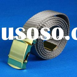 33mm Nylon military web belts with buckle and velcro