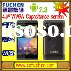 4.3 inch MT6573 3G Android Mobile Phone with Dual SIM