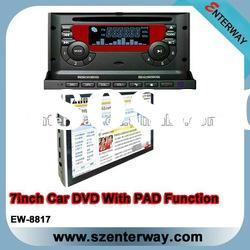 "7"" All in one car dvd buil in Wifi/3G (EW-8817)"