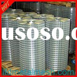 8)HOT!galvanized /PVC/stainless steel welded wire mesh(10 years manufacturer)