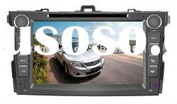 8'' Toyota Corolla Car DVD Player with GPS RDS 6 disc memory Picture in picture