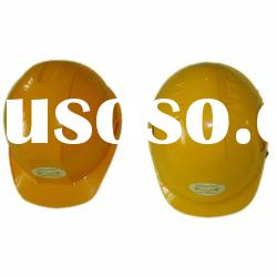 ABS yellow safety head protection helmet