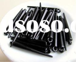 Active stock!Cheap!!Loose acrylic spike beads,50mm black color for shamballa earring fittings